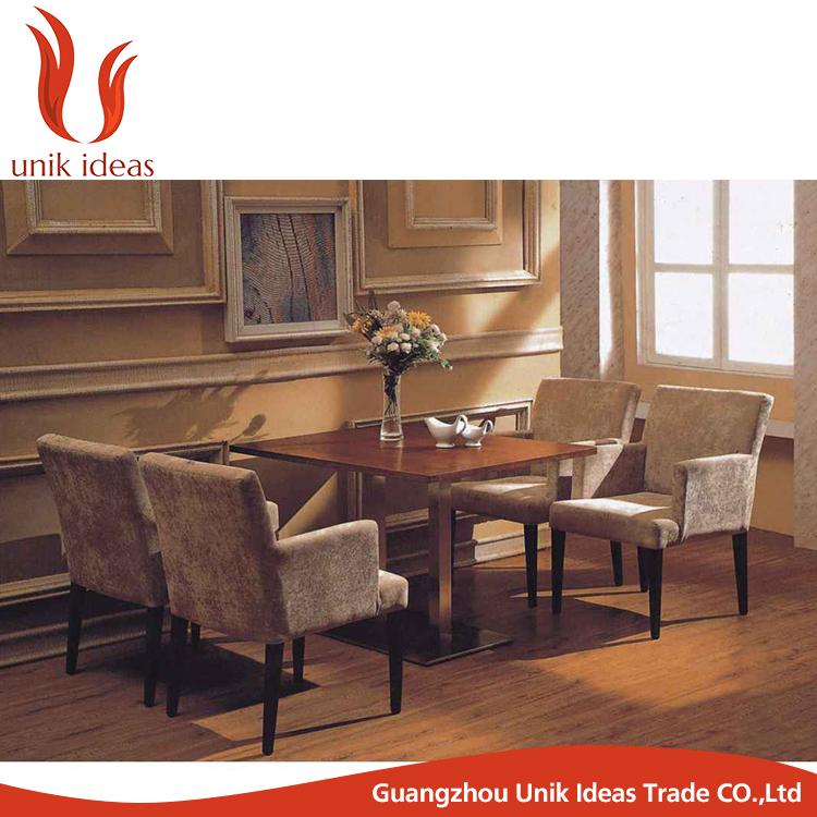 Mesa de comedor y silla muebles restaurante de lujo banquete sillas ...