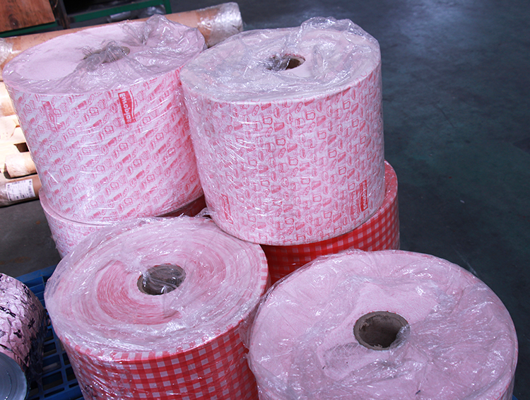 China supplier customer printed wax treated paper for burger wrapping