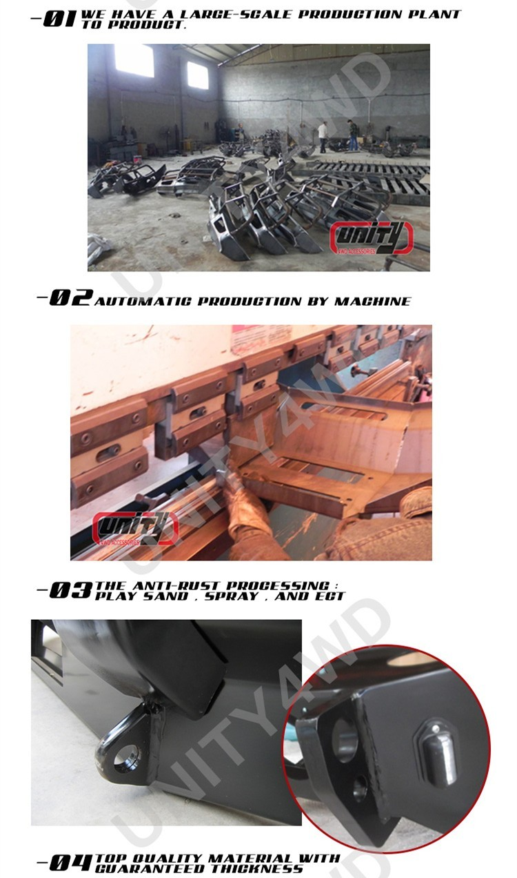 China 4x4 Accessories Car Parts 4x4 Bull Bar 4x4 Car Bumper For Fj ...