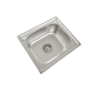 Customize Malaysia Stainless Steel Kitchen Restaurant Sink With Drainer