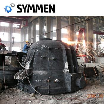 China Supplier Size High Quality Cast Steel Cast Iron Slag Ladle ...