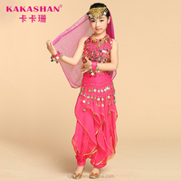 Dance Wear Belly Dance Costume For Kids Girls