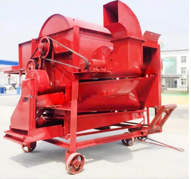 220V Efficiency Maize Sheller Corn Thresher Machine