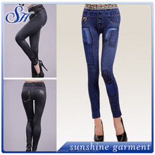 Fantastische damen jeans voller körper leggings frauen in leggings pics mode