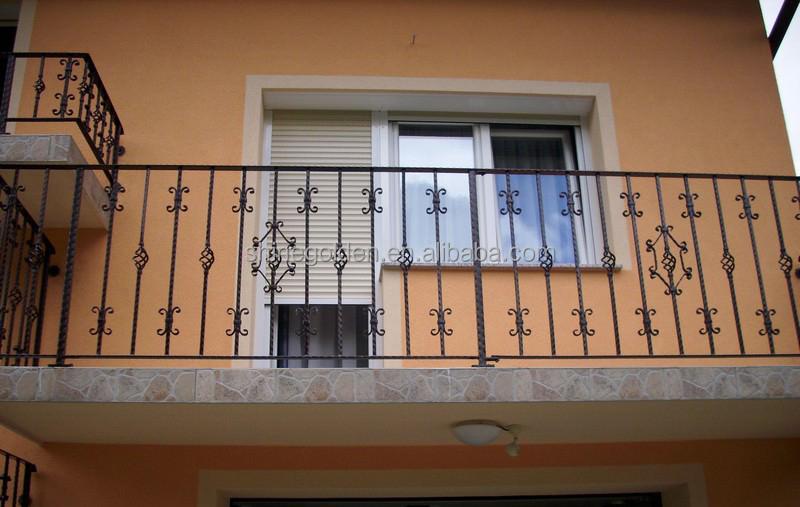 Gyd 15b059 interior wood balcony balustrade fence balcony - Box grill designs balcony ...