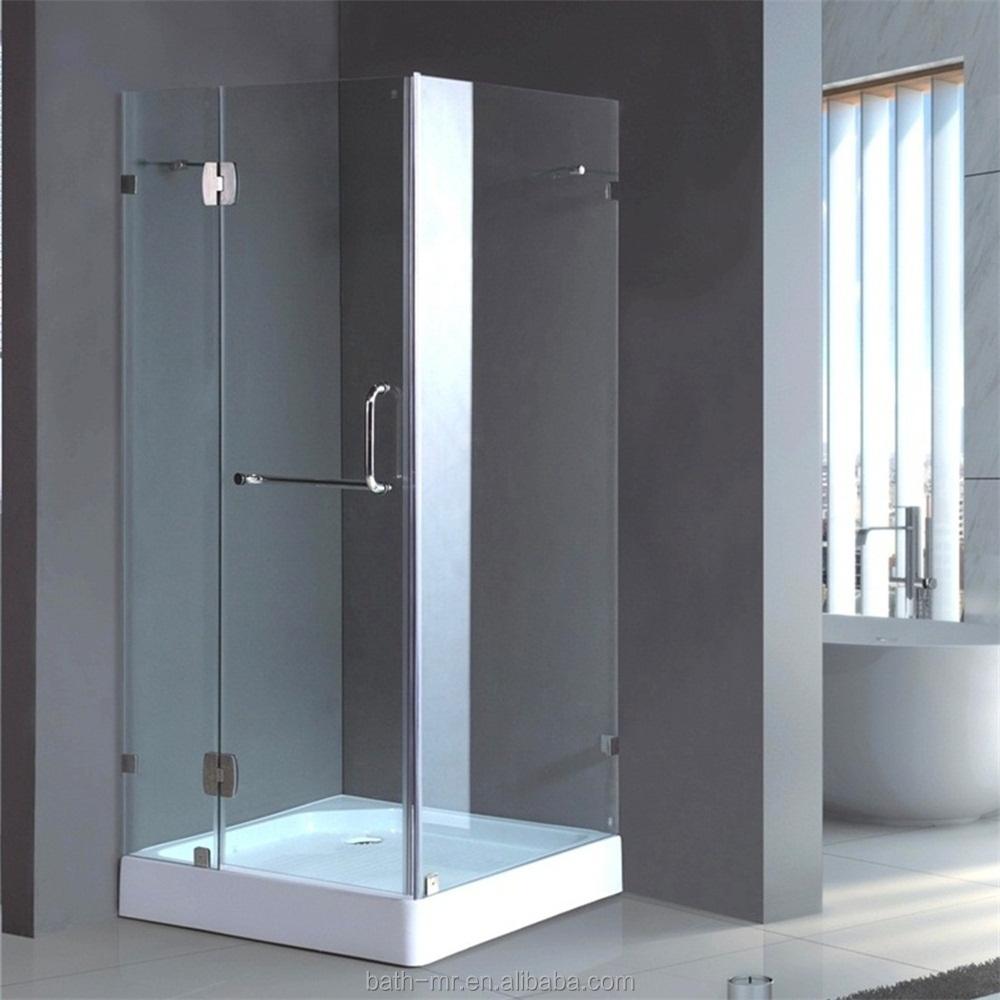Tamaño estándar ducha rectángulo sin marco-Salas de Ducha ...