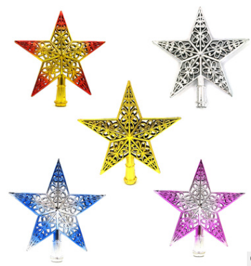 Hot Wholesale Christmas Tree Ornament ,christmas tree top star