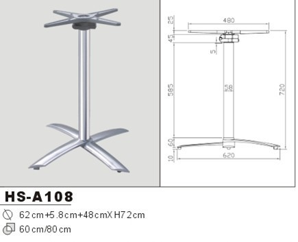Pied table pliante metal id es d coration id es d coration - Tables pliantes castorama ...