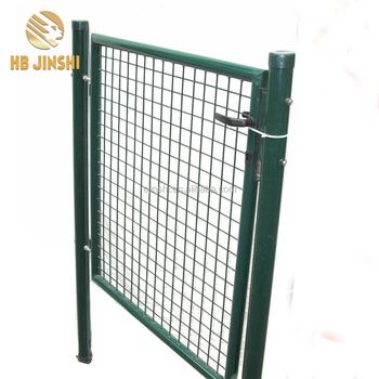 100x120cm Round Tube Frame Welded Wire Mesh Panel Farm Metal Garden ...