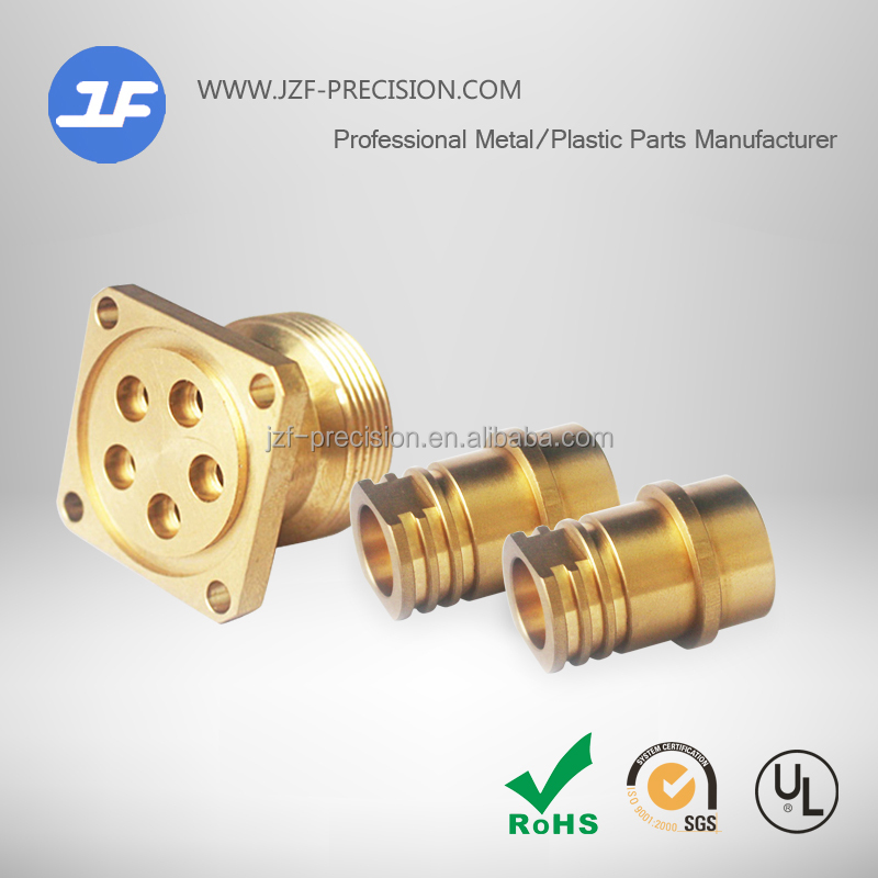 Custom machining Services of cnc turning parts copper studs brass bolts