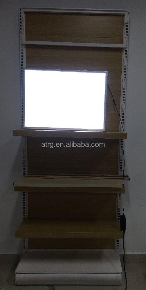 Ultra Slim Snap Frame Led Light Box /led Advertising Board Shelf ...