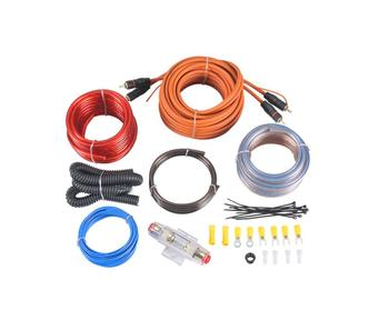 High quality amplifier wiring kits for car subwoofer