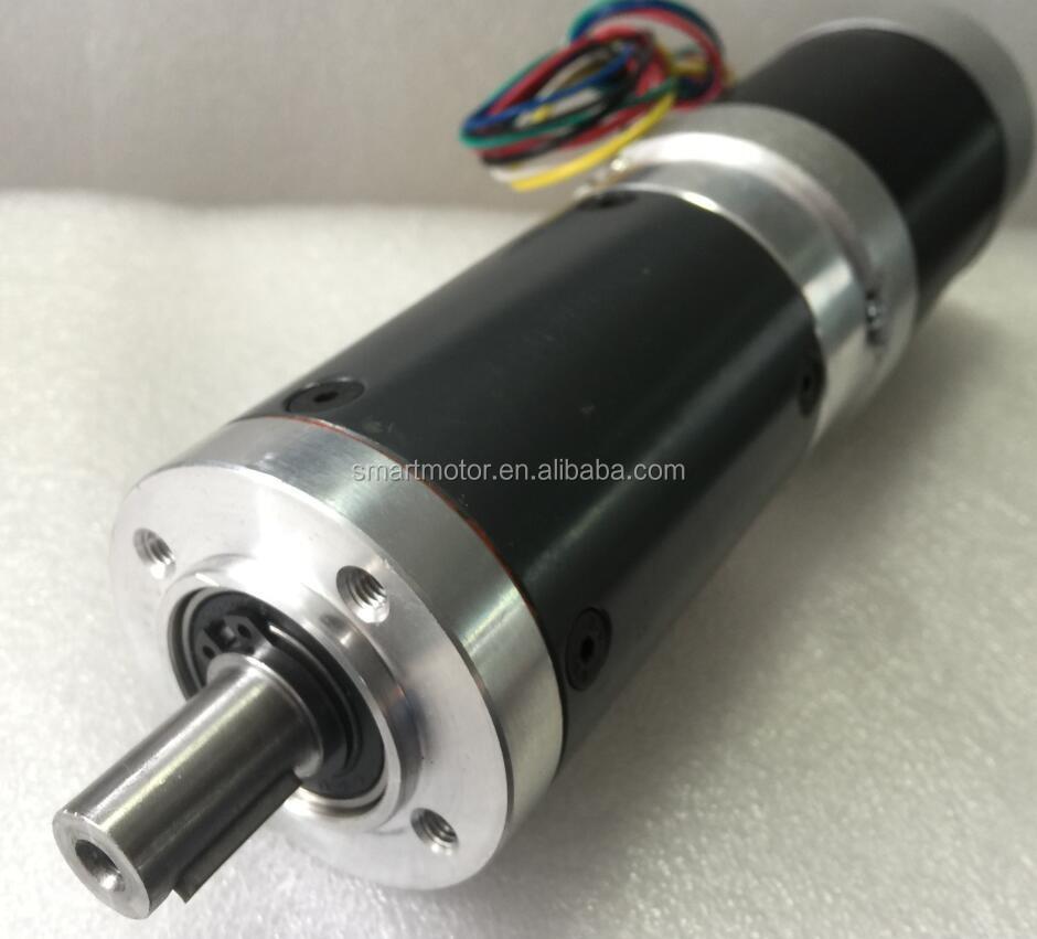 57mm Brushless Dc Planetary Gear Motor 12v 24v 36v 48v