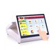 fashion 12 inch tablet POS PDA dual touch screen pos system with VFD cheap cash register