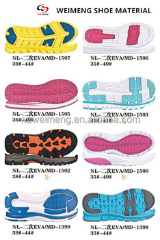 Wholesale Colorful Tennis Sport Shoe Sole For Women 2016