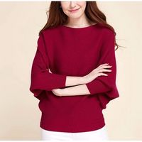 New design autumn winter pullover 100% women knitted Cashmere sweater