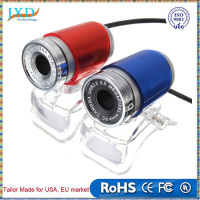 USB 2.0 Webcam 50MP 12M Pixels HD Clip-on Web Cam Camera 360 Degree for Computer Laptop PC Tablet