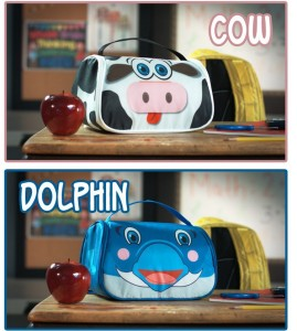 Hot sell New Snack Pets lunch pack children's cartoon lunch bag