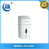 Electric automatic touchless foaming soap dispenser /wall mount plastic soap dispenser 1000ml ,OK-233A