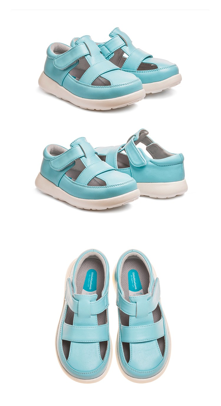 littlebluelamb wholesale cute flat baby girls sandals