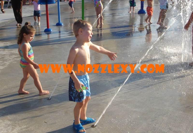 Splash pad water jumping jet spray park equipment