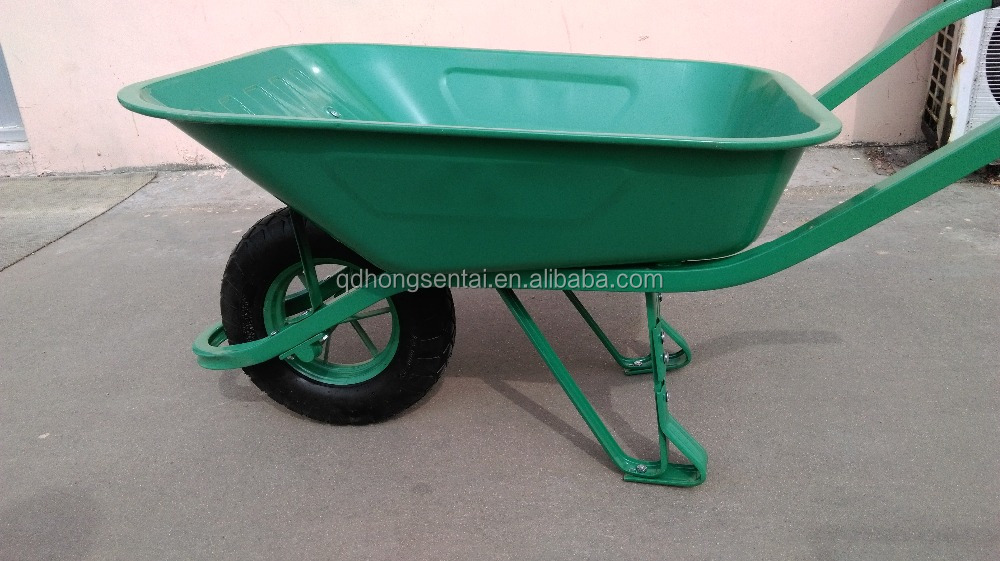 france model wheel barrow wb6400 with square steel tube