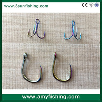 treble fishing hook bkk worm hook weighted