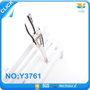 Design beautiful sword square custom hardware bag parts