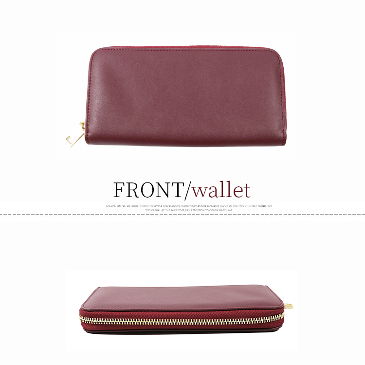 wholesale Fashion Leather Women Coin Purse pu ladies Long cell phone wallet