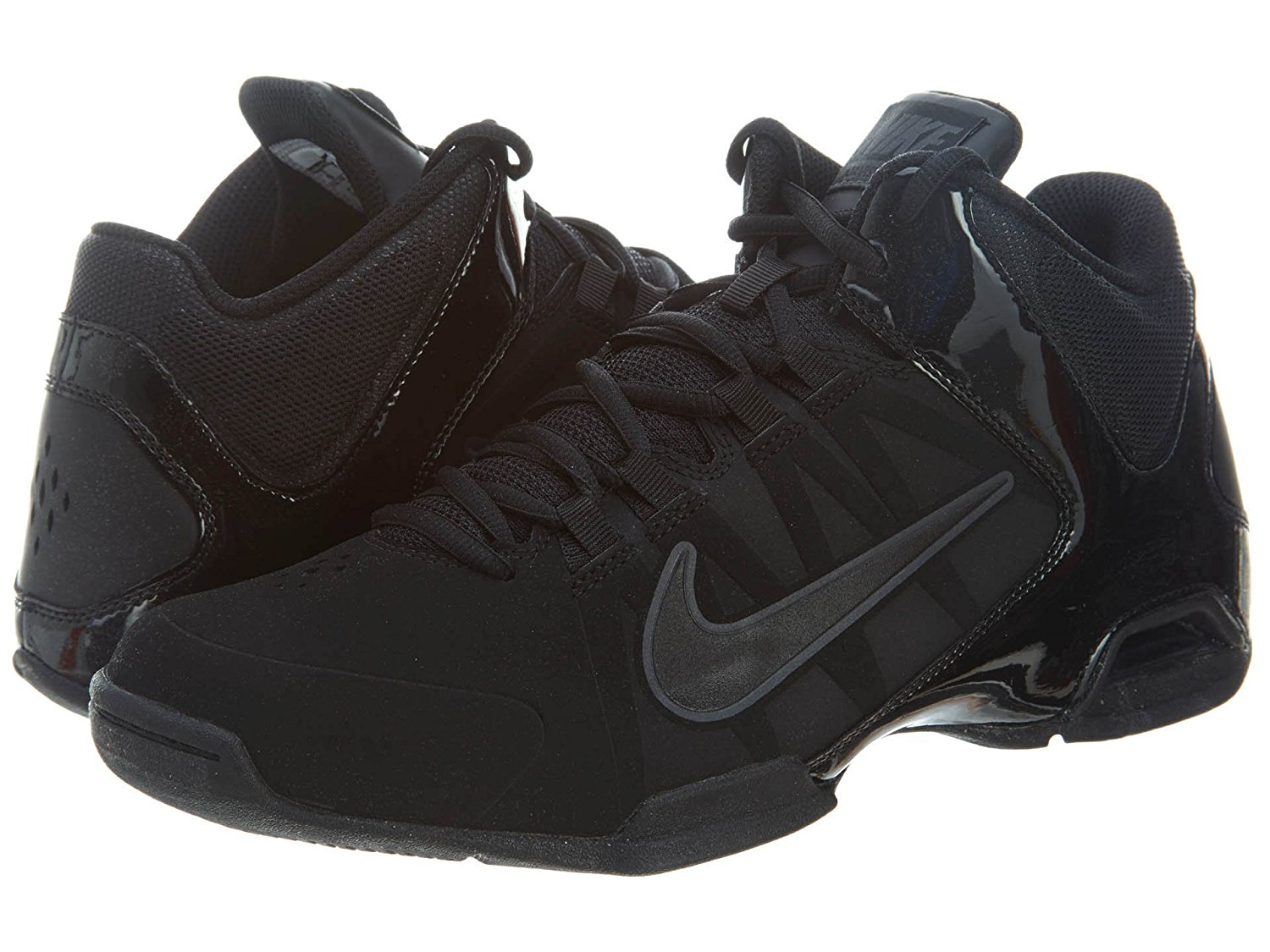 edab2d4e395 Nike Air Visi Pro 4 Basketball Shoes Size Mens 8.5 Black Gray EXCELLENT Cond
