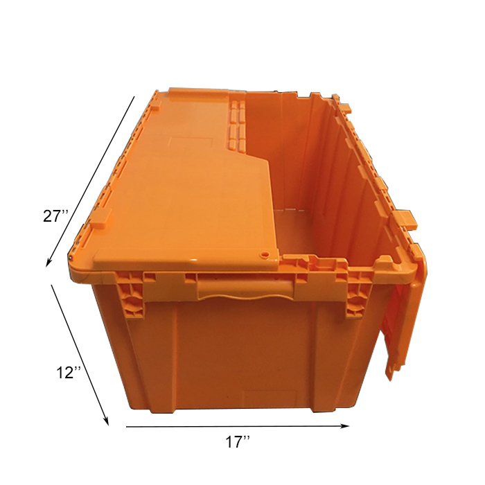large volume plastic moving crates