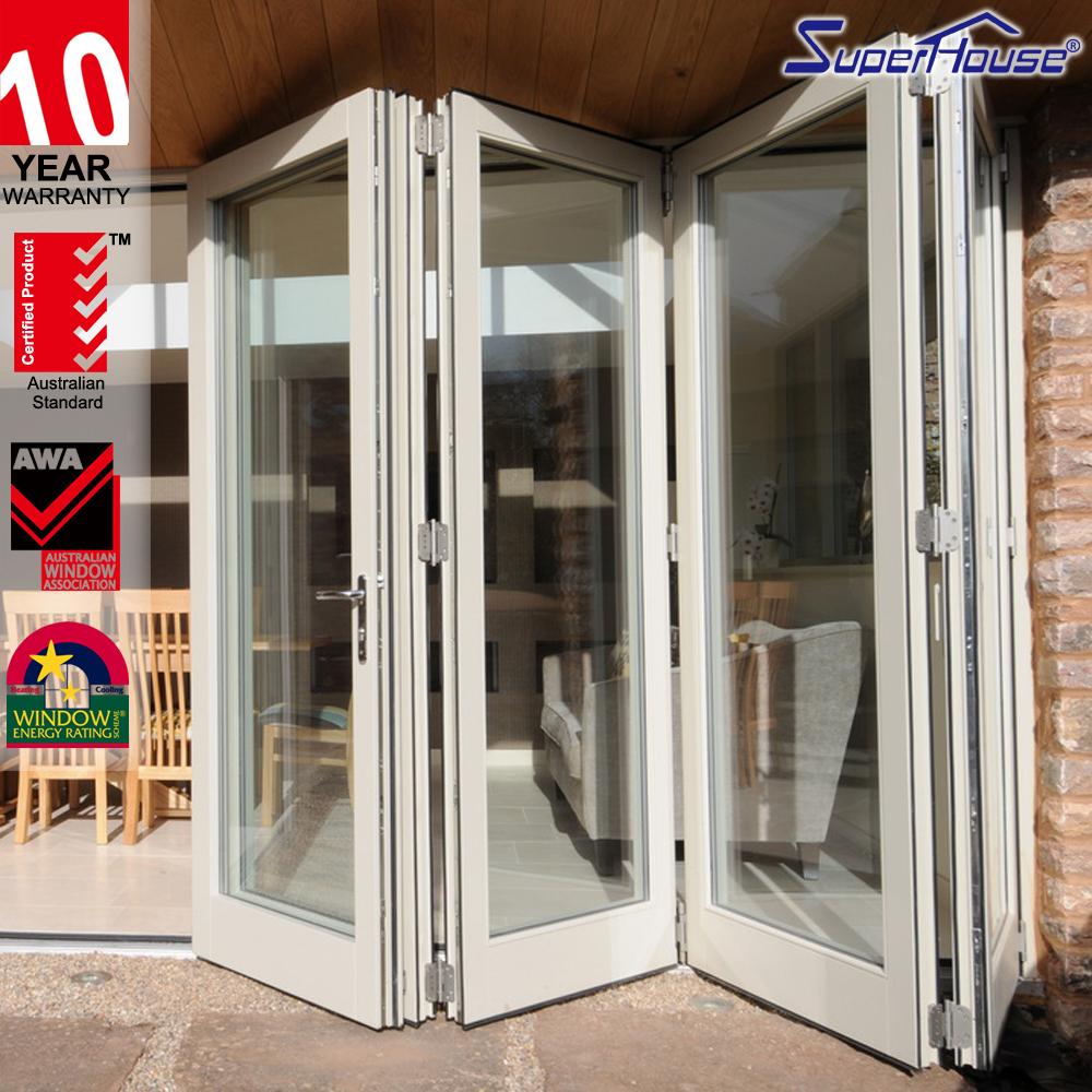 Accordion doors exterior folding patio doors exterior Exterior aluminum doors manufacturers
