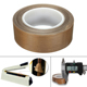 High performance heat resistant teflon PTFE glass cloth adhesive tape for bag sealing machine tape