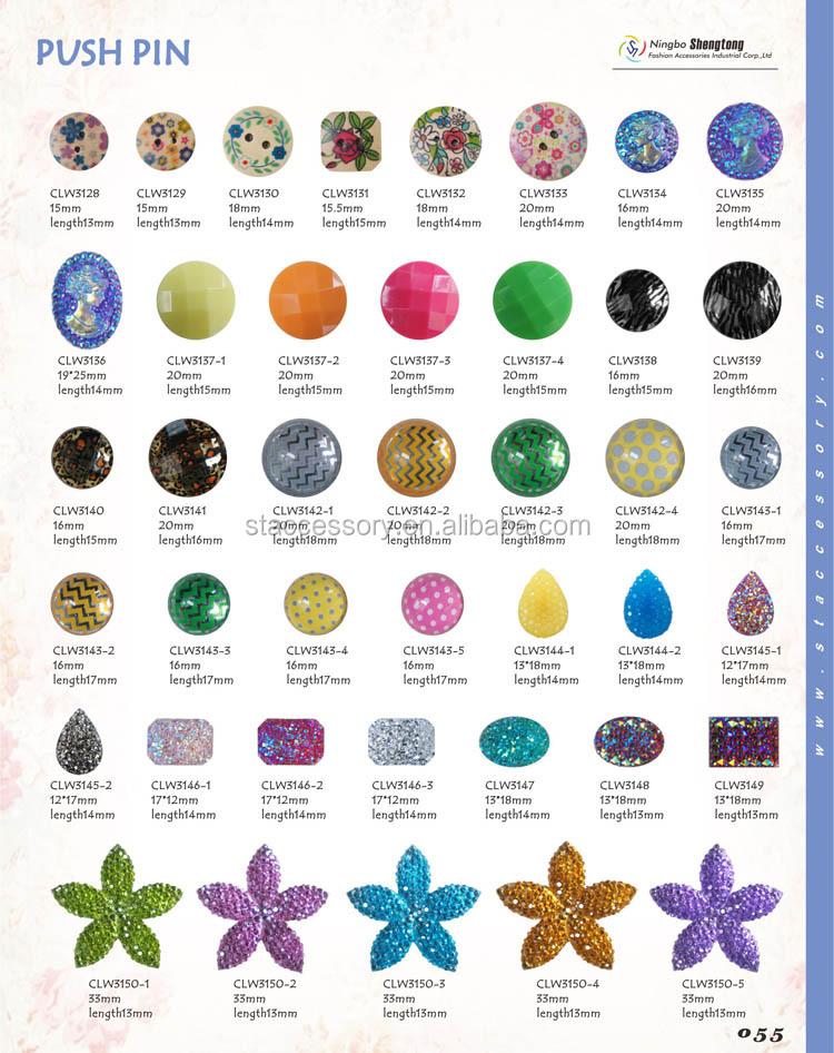 Decorative Push Pin Wholesale Curtain Push Pins - Buy Curtain Push ...