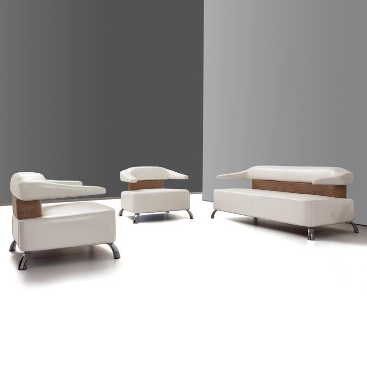 Creative Design White Leather Living Room Sofa Sets For Salon - Buy Living  Room Sofa Sets,White Leather Sofa Sets,Sofa Sets For Salon Product on ...