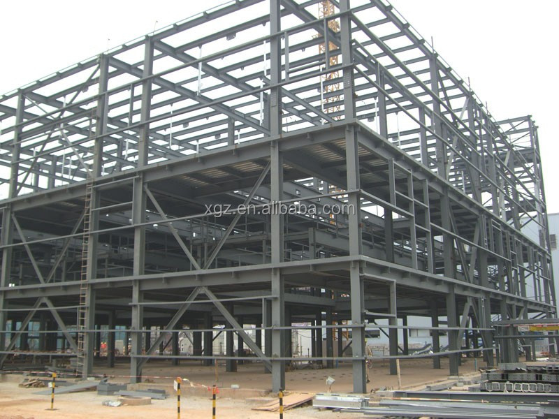 60b0ce0ac5fa High Rise Prefabricated Light Steel Frame Structure Fabrication Office Construction  Building