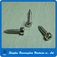 Stainless Steel Allen Socket Head Self Tapping Wood Screws