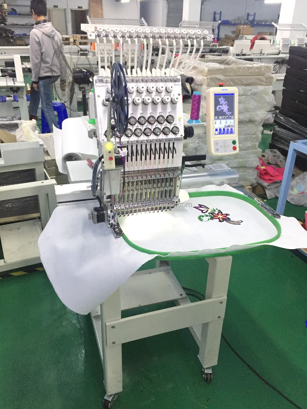 hat and shirt embroidery machine