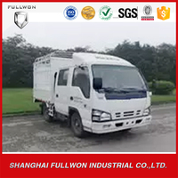 4*2 white double cab diesel light truck for sale