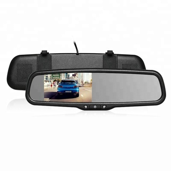 FCC CE ROHS 4.3 inch auto-adjust brightness car rearview mirror monitor