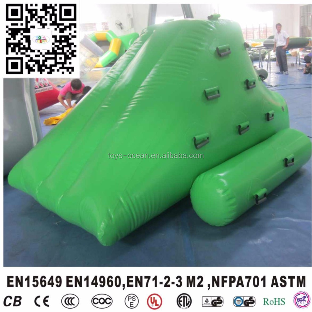 factory outlet inflatable floating mini water iceberg toys for kids pool play