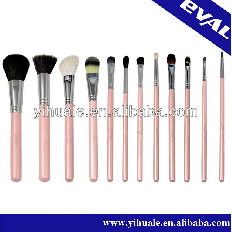 2013 hot sale cosmetic make up brush set
