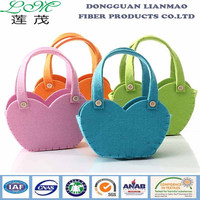 Polyester bag for shopping using