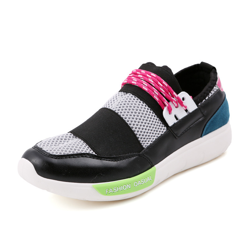 6e445469c92 Get Quotations · Real Photo high brand leather lover sneakers fashion arena  trainer flats shoes comfortable casual shoes