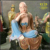 High Quality Painting Fiberglass Female Buddha Statues For Indoors Decor