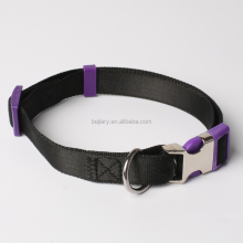 Adjustable Nylon Material With Quick Release Snap Buckle Dog Collar