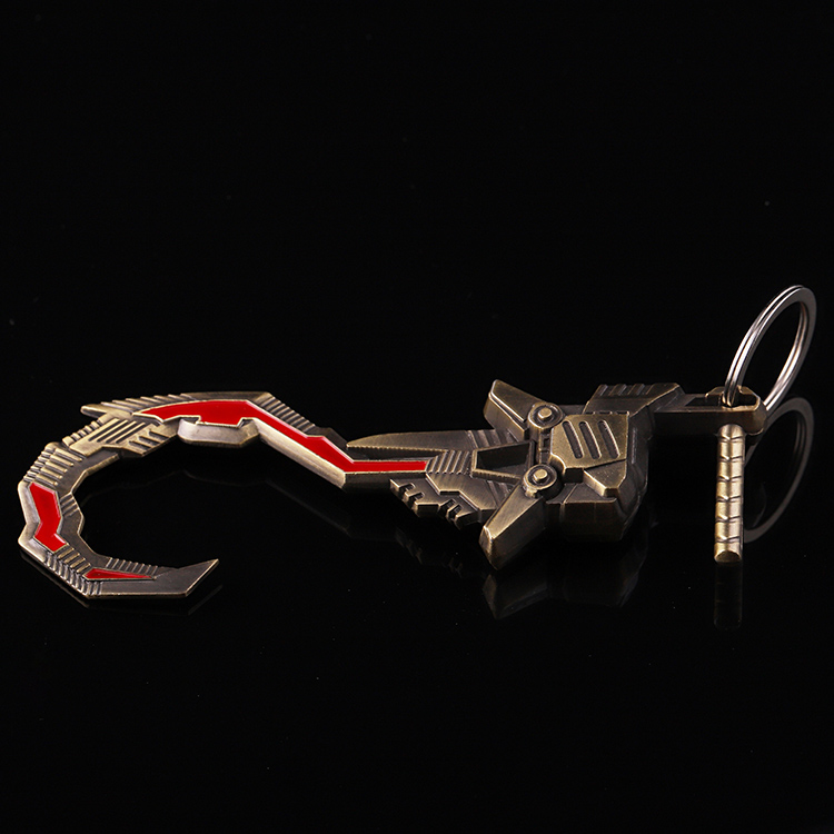 Jiabo  antique style  key ring custom metal soldier 3d metal keychain hook