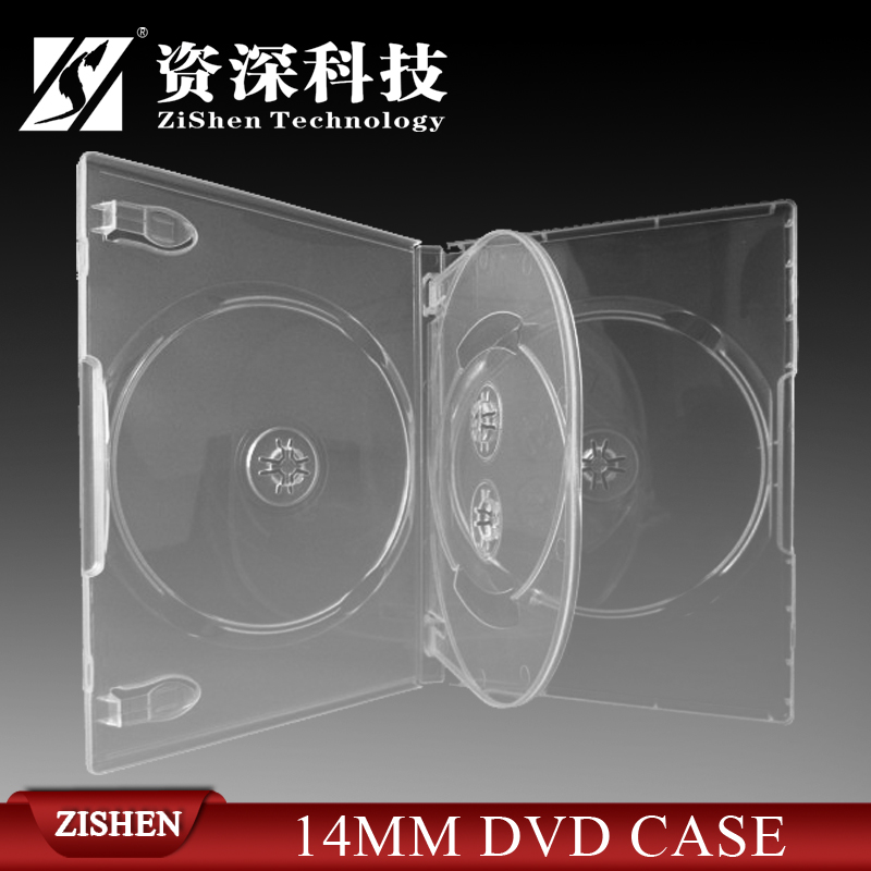 14Mm Dvd Case For 4 Dvd Discs