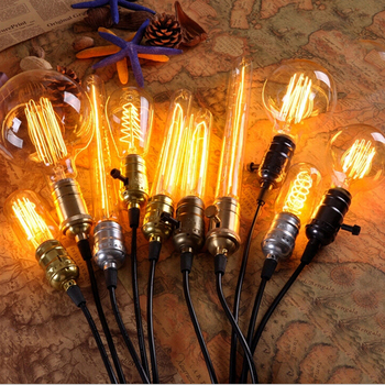 8w dimmable edison style vintage led filament bulb e26 e27 b22 st64
