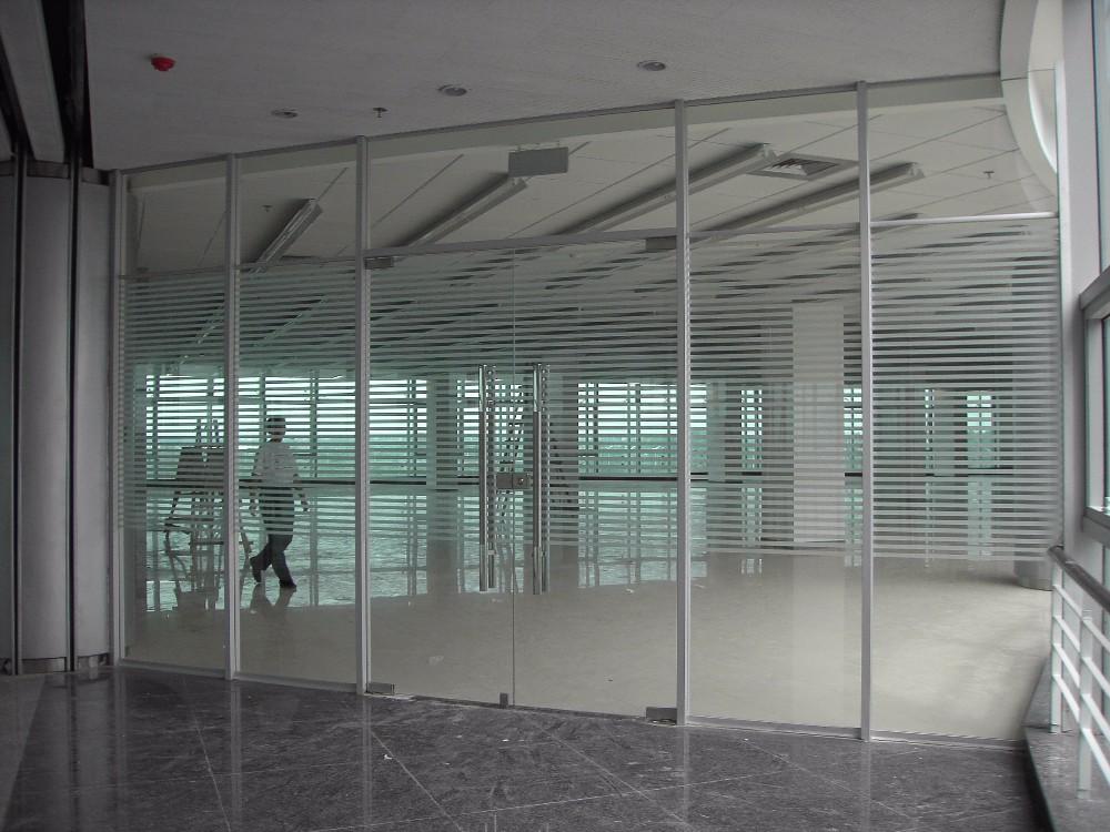 Halumm unique verre gonflable aluminium strusture cloison de bureau cloison de bureau id de - Cloison aluminium bureau ...